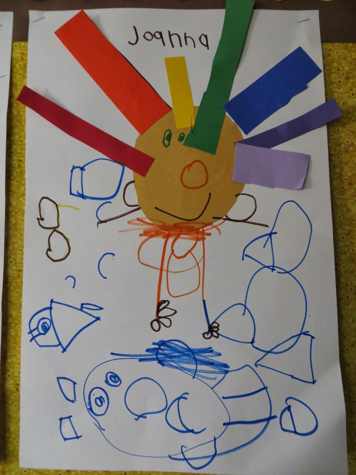 preschool for rookies art roy g biv rainbow hair. Black Bedroom Furniture Sets. Home Design Ideas