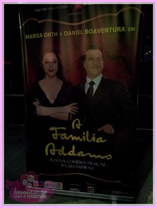 Marisa Orth e Daniel Boaventura no Musical A Família Addams