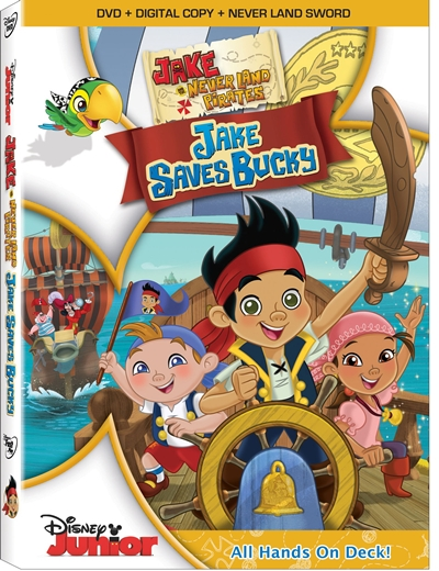 Jake and the Neverland Pirates Jake Saves Bucky DVDR NTSC Español Latino Menú Full