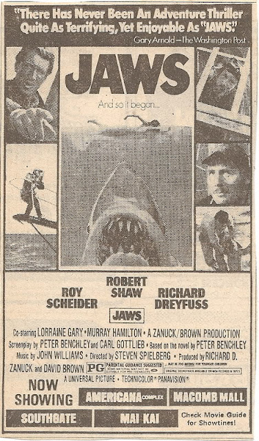 vintage jaws advert