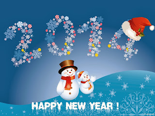 happy-new-year-2014-snowman-ice text-hd-1600x1200