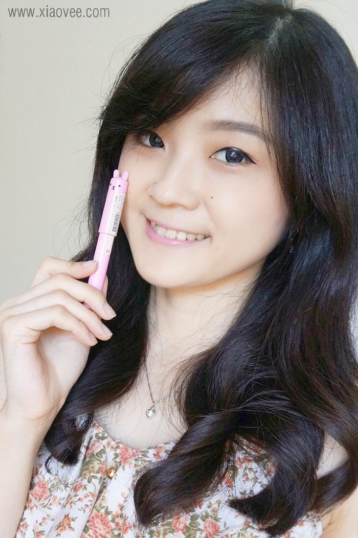 Xiao Vee Indonesian Beauty Blogger Tony Moly Petite Bunny Gloss