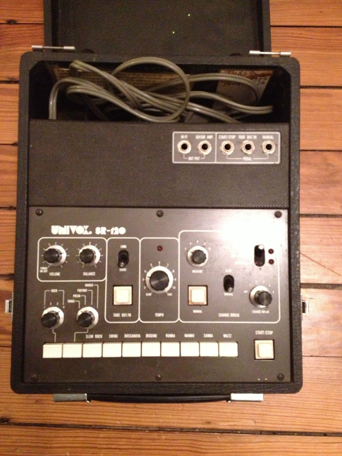 univox rhythm machine
