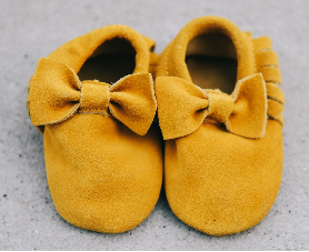 SALE: Suede Baby Moccasins 2 days left!