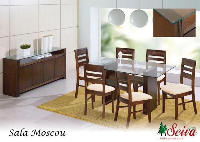 Seiva Moveis Sala De Jantar ~ Pak Decorações Salas de Jantar  Móveis Seiva