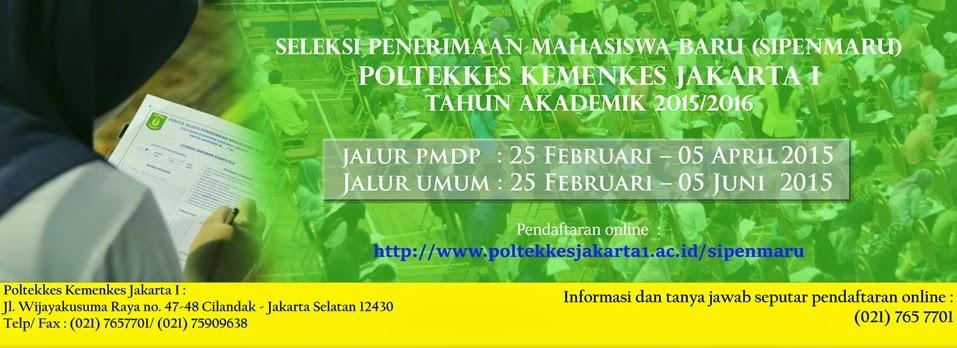 Pendaftaran Poltekes Kemenkes Jakarta 1