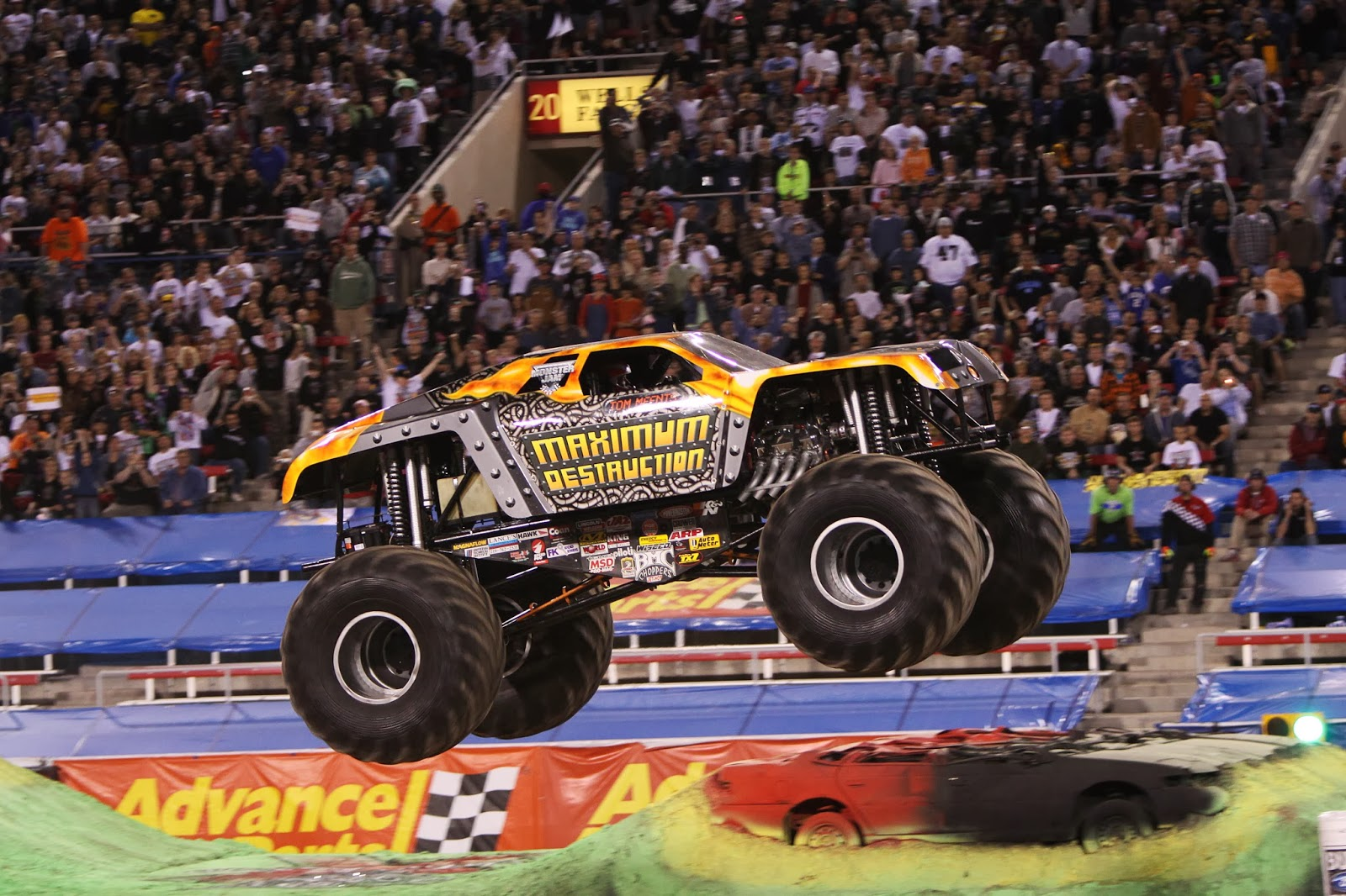 Monster Jam Detroit giveaway Yes/No Films