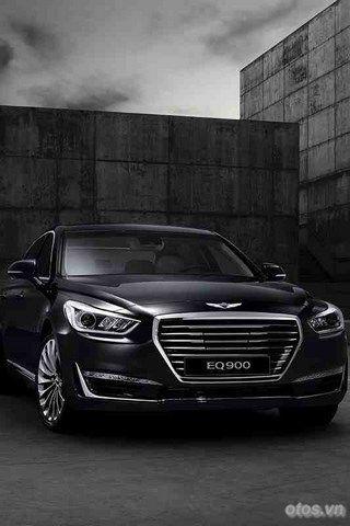 Xe Hyundai Genesis G90 he lo thong tin chi tiet