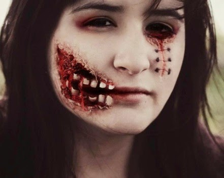 Cool Scary Make Up