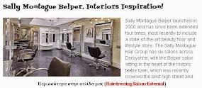 Sally Montague Belper. Interiors Inspiration!