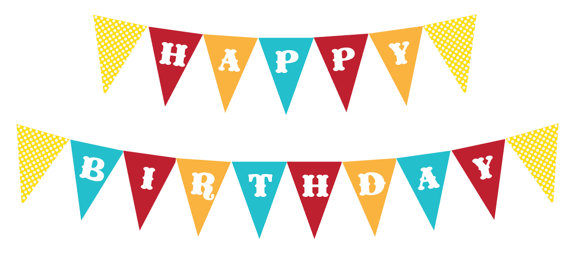 free printable birthday banners Cute And beautiful - Maginezart