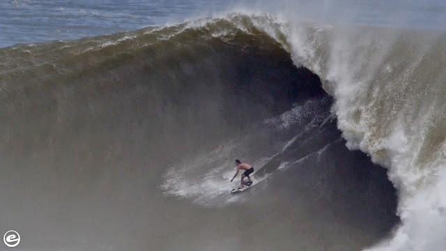 The Biggest Wave Ever Ridden On A Skimboard - Brad Domke - Exile Skimboards