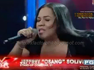 Jeffrey Osang Solivio, x factor, philippines, audition