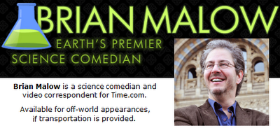 Brian Malow Science Comedian