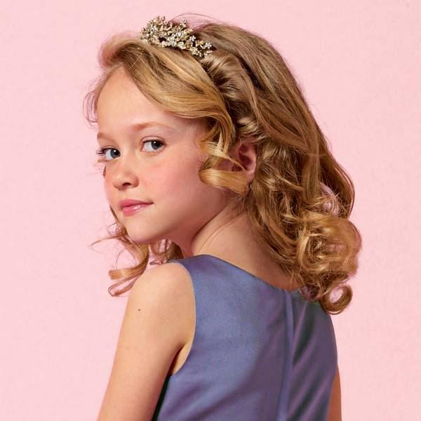 Coiffure mariage pour petite fille 8 ans