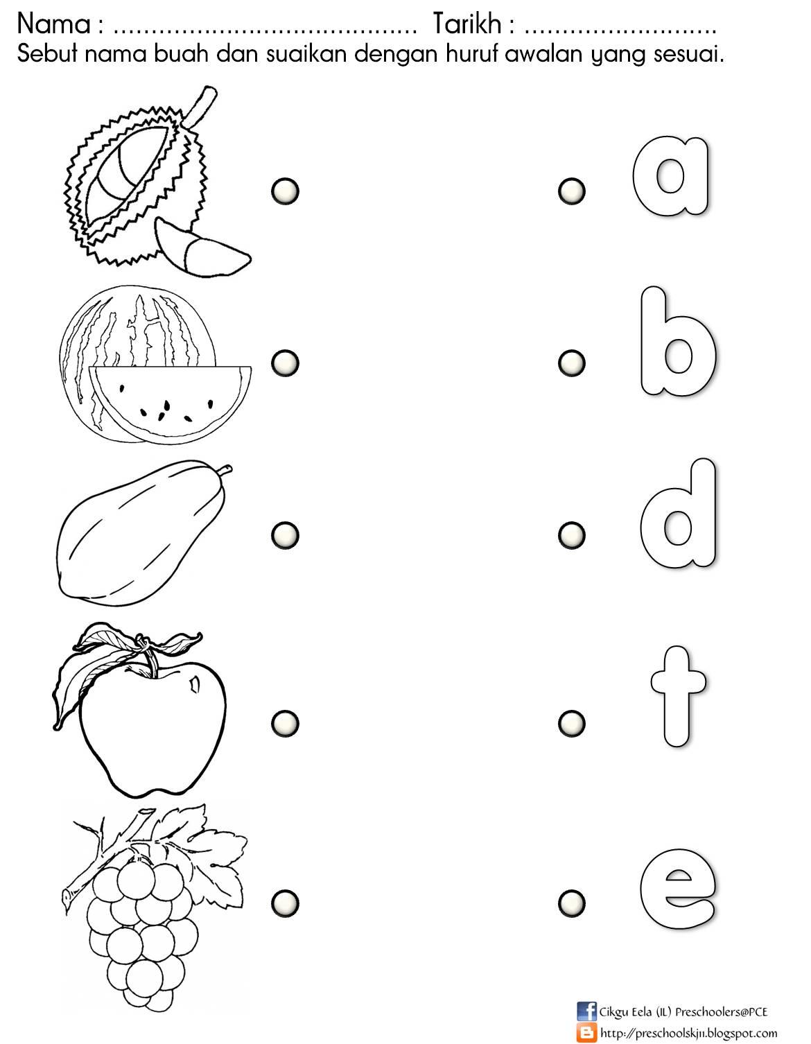 Kreativiti Tema Buah-buahan Tema Buah-buahan