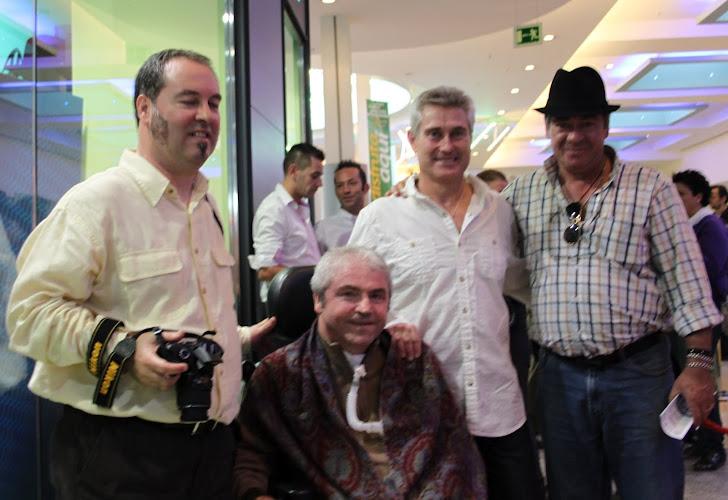 Pepe Murcia, Jose Muñoz, Jose Ignacio Muñiz y Paco