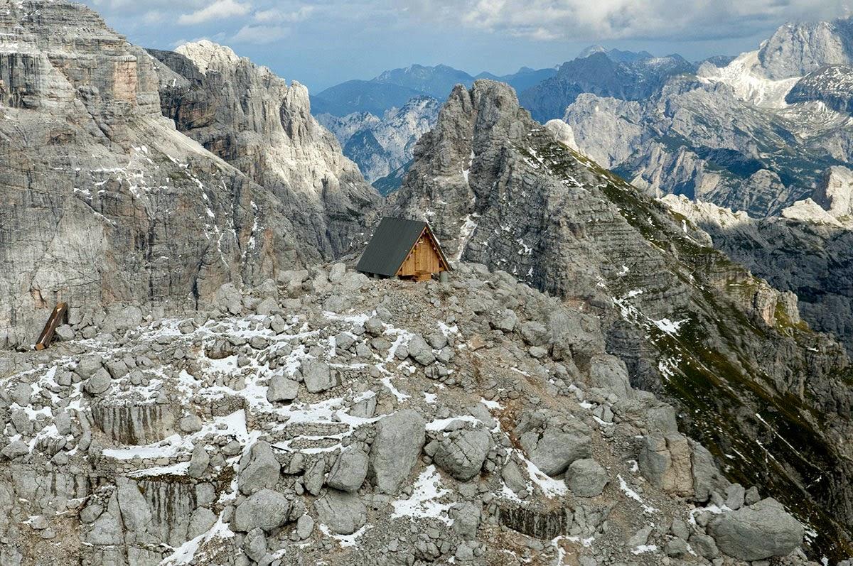 منزل جبلي صغير