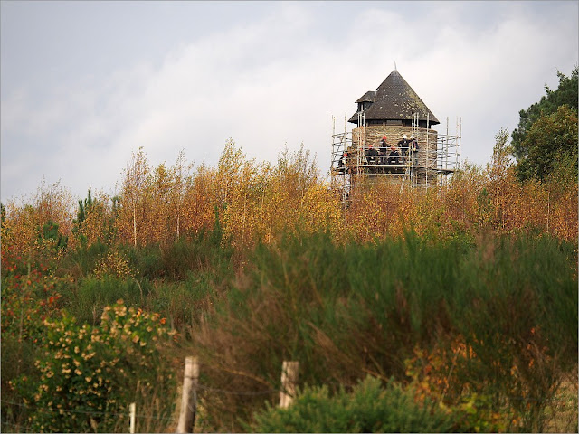 Le moulin de Cojoux, dans les landes, est en chantier