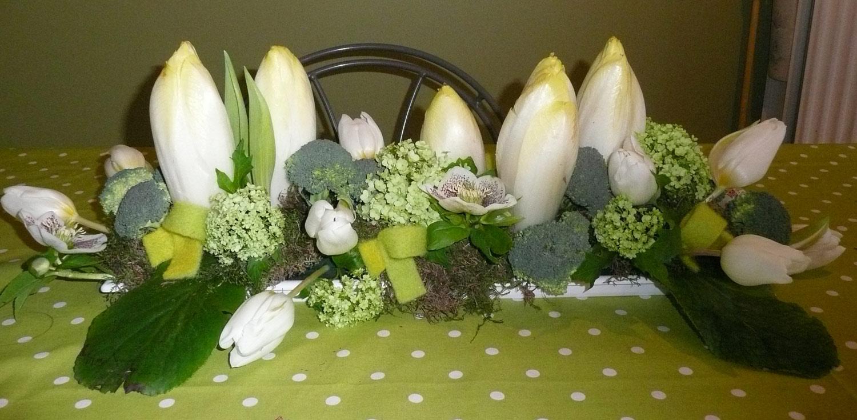 Floral vauban cours du 20 janvier 2012 for Decoration de plat avec des legumes