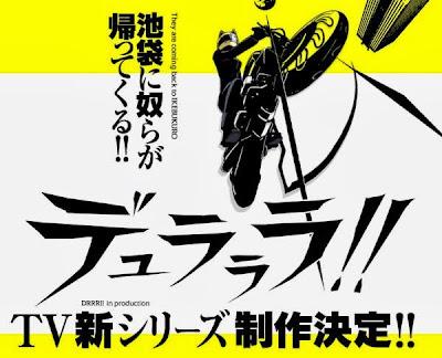 durarara anime segunda temporada anuncio