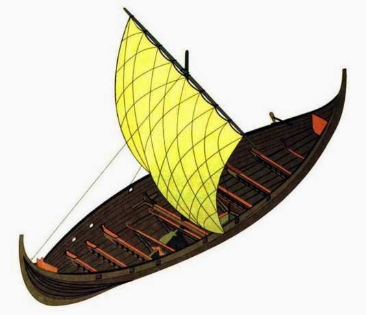 как выглядит ладья лодка