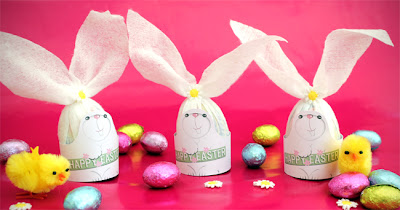 Filth wizardry easter bunny printable wrappers for your cadburys they would make a cute little gift this easter for kids to give to their friends my kids saw me making these ones though so they are nommed already negle