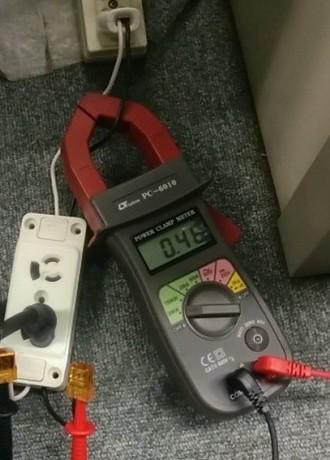 消費電力KW測定