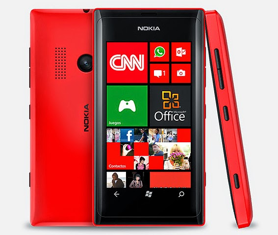 Gambar Nokia Lumia 505