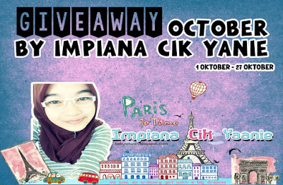 GIVEAWAY OCTOBER BY IMPIANA CIK YANIE