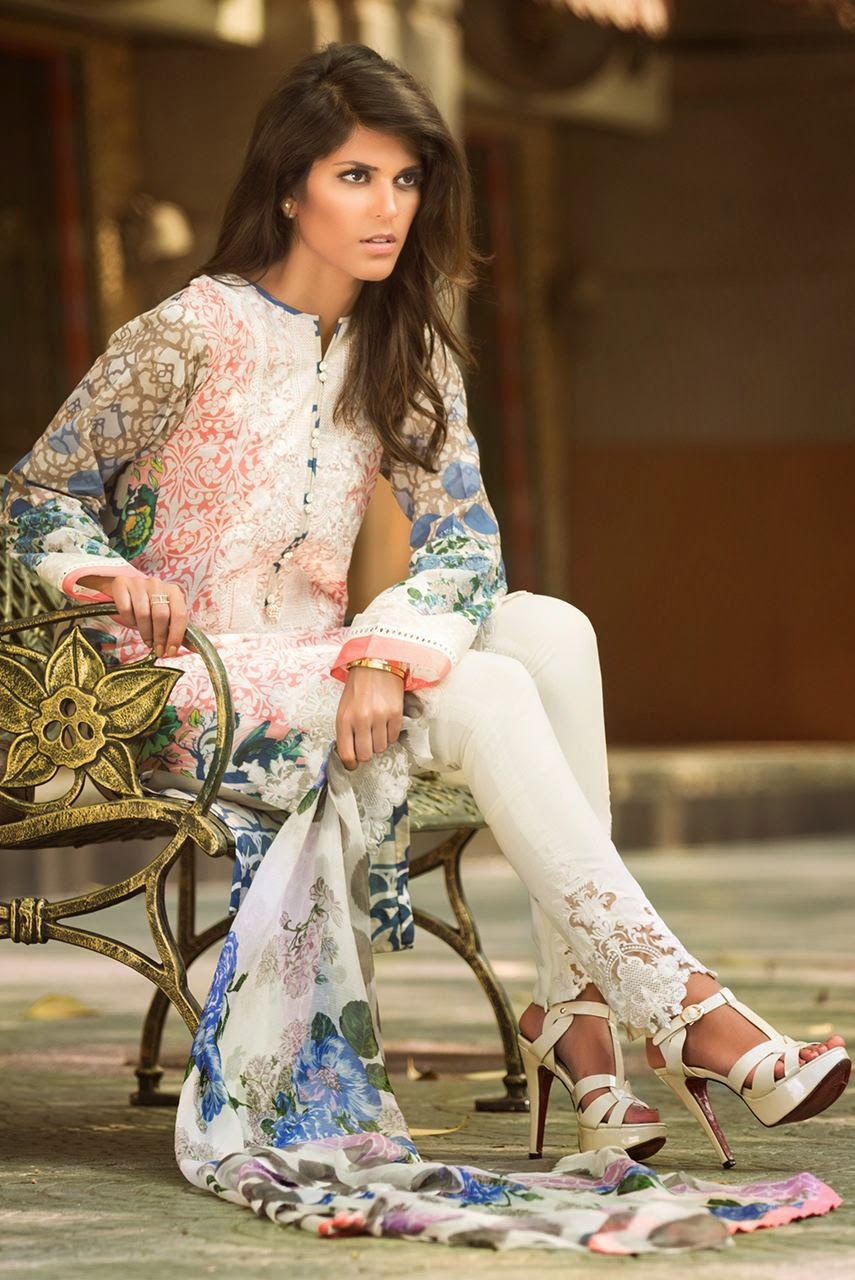 Pakistani lawn collection 2015