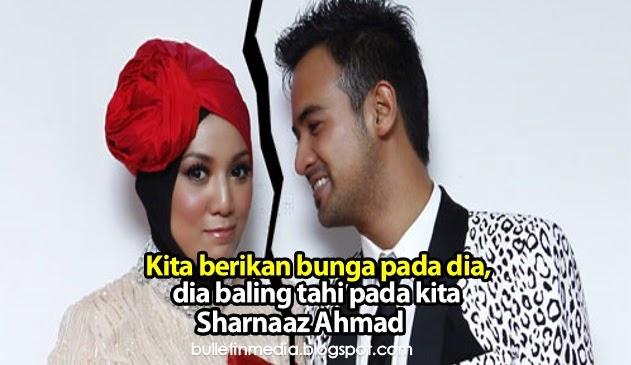 Kita berikan bunga pada dia, dia baling tahi pada kita komen Sharnaaz Ahmad