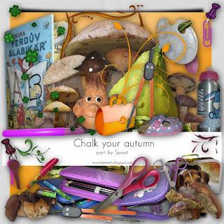 Chalk Your Autmn Collab Kit Elements by uspunta