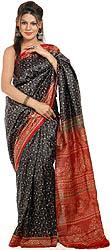 Designer Madurai Saree in Cotton Tie n Dye Print Bandani Sari