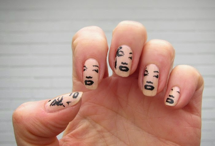 Sanne\'s blog: Christmas Nails