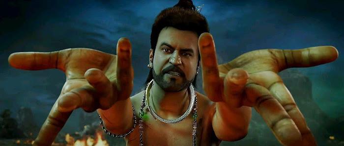 Screen Shot Of Hindi Movie Kochadaiiyaan (2014) Download And Watch Online Free at worldfree4u.com
