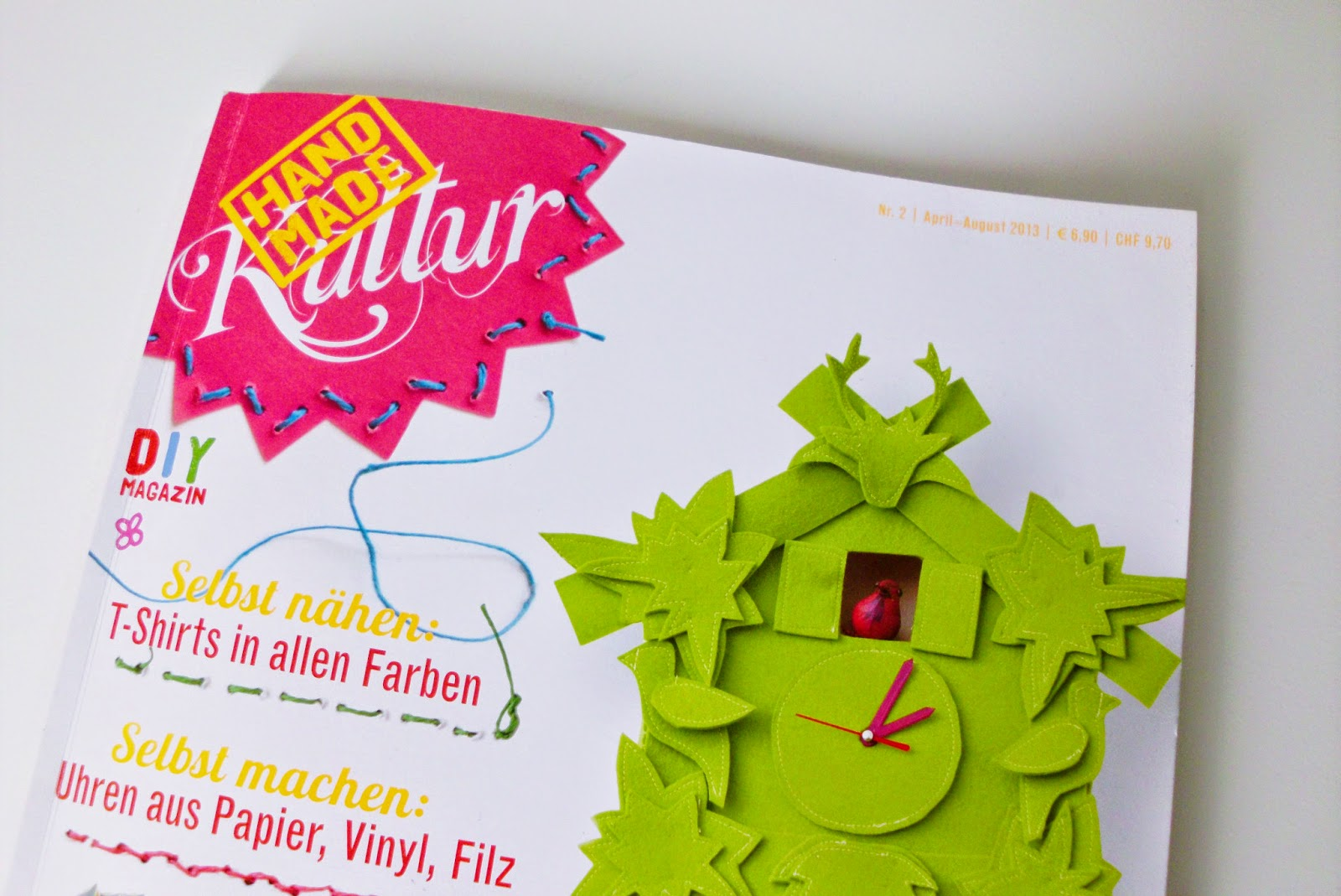 curious and catcat: a look into the handmade kultur magazine