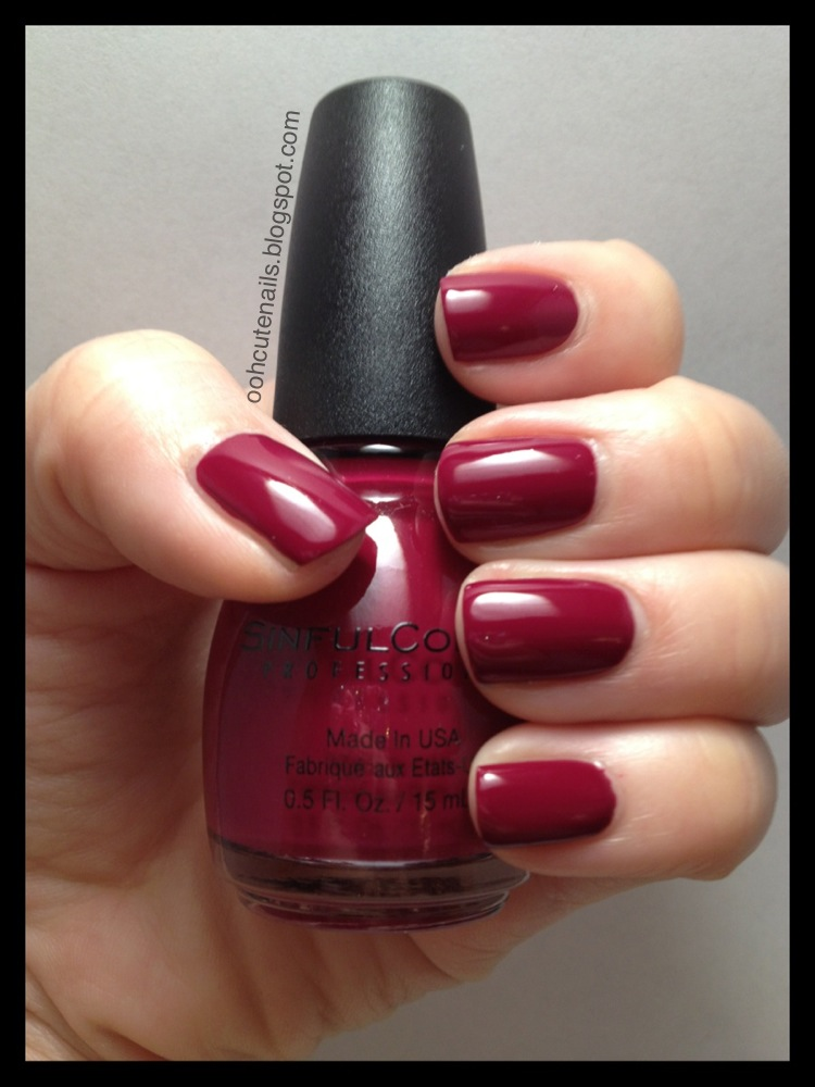 Ooh, Cute Nails!: Sinful Colors - Truth Or Dare
