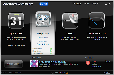 Advance SystemCare Pro 5.3 Screenshot