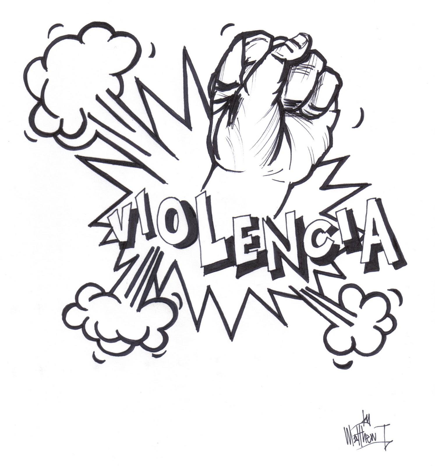 Dibujos de no a la violencia - Imagui