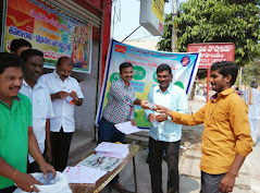 Service of Bhadrachalam Postal Staff to the Devotees on SriRama Navami Festival at Bhadradri Temple