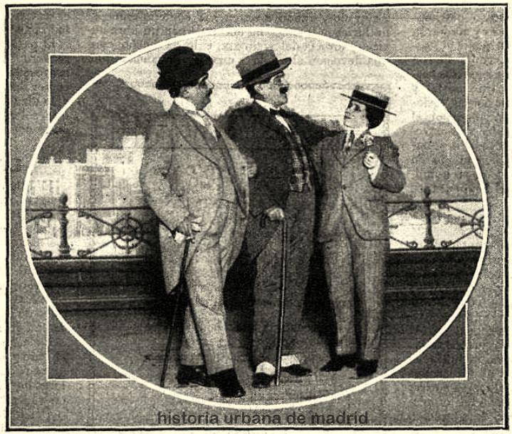 Historia urbana de madrid madrid 4 de marzo de 1913 for Calle loreto prado y enrique chicote