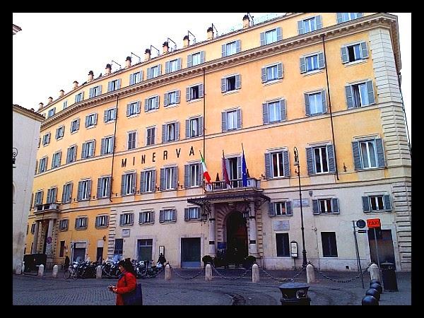 Hotel Minerva w Rzymie