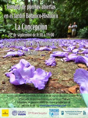 Jornada de puertas abiertas Jardín botánico-histórico La Concepción
