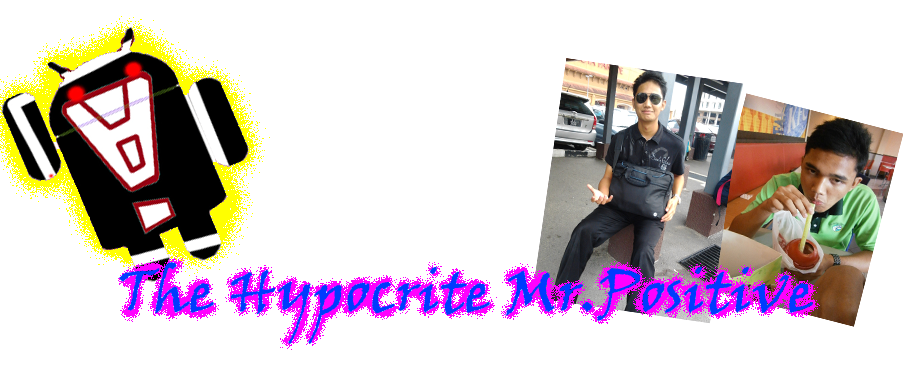 The Hypocrite Mr. Positive