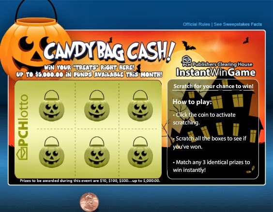 Countdown to Halloween 2013 Day 7: PCH Lotto Gets Spooky