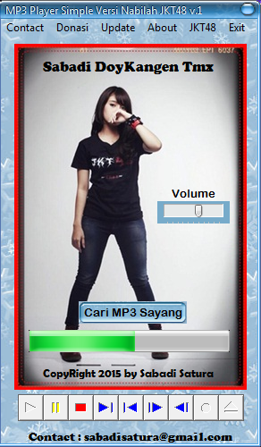MP3 Player Simple Versi Nabilah JKT48 v.1