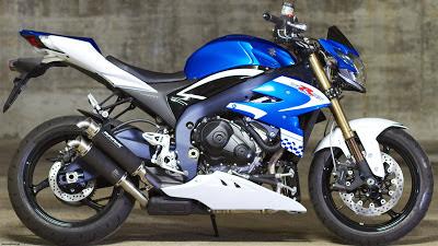 motor Suzuki Virus 1000 model baru