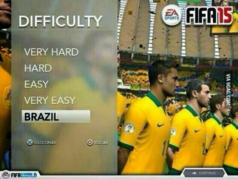 Nivel de Dificultad Brasil