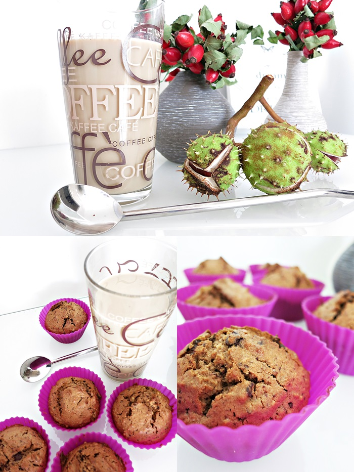 Baileys Coffee Latte + Kaffee-Amaretto Muffins